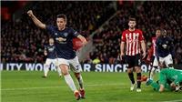 Video clip bàn thắngSouthampton 2-2 M.U: Thêm một lần bước hụt