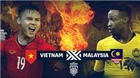 VTV6. VTC3. Trực tiếp bóng đá. Link xem trực tiếp bóng đá Malaysia vs Việt Nam, AFF Cup 2018