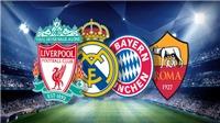 Trực tiếp bốc thăm Bán kết Champions League