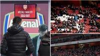 Arsenal báo có 1.447 ghế trống ở trận gặp Man City, bị Gary Neville cười nhạo