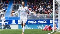 Eibar 1-2 Real Madrid: Ronaldo lại lập cú đúp, Real tiếp mạch hưng phấn