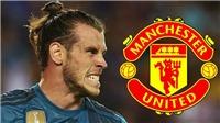 CHUYỂN NHƯỢNG MU: Chi 25 triệu bảng để mượn Bale. Thay Pogba bằng Eriksen
