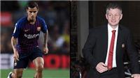 CHUYỂN NHƯỢNG M.U 14/1: Barca lo Coutinho sang M.U. Được sao Serie A 'bật đèn xanh'