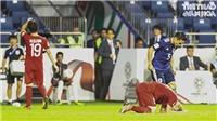 Văn Toàn sụp xuống sân, Quang Hải thất thần sau khi Việt Nam thua Nhật Bản