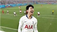 Son Heung-min đoạt giải Cầu thủ xuất sắc nhất châu Á 2018, Quang Hải xếp trên 'Messi Thái'