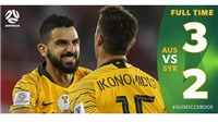 VIDEO Australia 3-2 Syria: Chiến thắng nghẹt thở