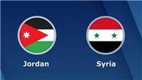 Soi kèo Jordan vs Syria. Dự đoán bóng đá Jordan vs Syria (20h30, 10/1). VTV6 trực tiếp
