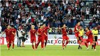 Lịch thi đấu Asian Cup 2019. VTV6. Trực tiếp bóng đá hôm nay. Việt Nam vs Nhật Bản