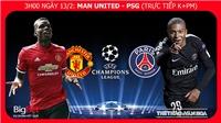 Nhận định và soi kèo M.U vs PSG (03h00 ngày 13/2). Trực tiếp bóng đá. Kèo MU PSG. Soi kèo MU vs PSG. Cúp C1