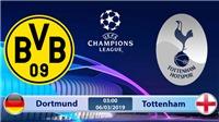 Soi kèo, dự đoán bóng đá Dortmund vs Tottenham (03h00 ngày 6/3), vòng 1/8 Cúp C1. Trực tiếp K+ PM