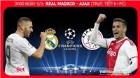 Soi kèo Real Madrid vs Ajax (3h00 ngày 6/3). Kèo bóng đá. Trực tiếp cúp C1