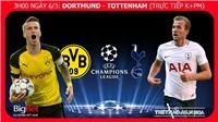 VIDEO nhận định Dortmund vs Tottenham (03h00 ngày 6/3), vòng 1/8 Cúp C1. Trực tiếp K+ PM