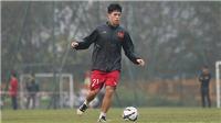 VTC3 VTV5 VTV6 trực tiếp U23 Việt Nam trước U23 Thái Lan: Đình Trọng trở lại, Thái Quý vẫn đá chính