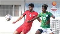 BXH đội xếp thứ nhì, BXH các bảng vòng loại U23 châu Á 2020