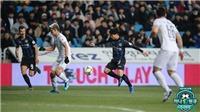 Công Phượng chuyền bóng 'dọn cỗ' nhưng cầu thủ Incheon bỏ lỡ đáng tiếc