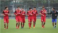 Lịch thi đấu vòng loại U23 châu Á 2020. Trực tiếp bóng đá U23 Việt Nam trên VTC3, VTC1, VTV5