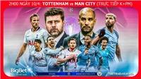 Soi kèo Tottenham vs Man City (02h00, 10/4). Trực tiếp bóng đá. Lịch thi đấu C1