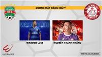 Bình Dương vs TPHCM: Nhận định và trực tiếp bóng đá (17h00, 12/4). Lịch thi đấu Wake-up 247 V-League 2019