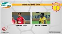 Viettel vsNam Định: Nhận định và trực tiếp bóng đá (19h00, 13/4). Lịch thi đấu V-League 2019