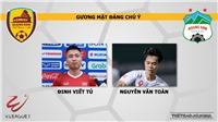 Quảng Nam vs HAGL (17h00, 21/04): Nhận định và trực tiếp V League 2019 vòng 6