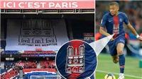 PSG tôn vinh Nhà thờ Đức Bà Paris trong ngày vô địch Ligue 1