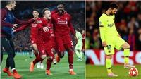 CẬP NHẬT sáng 8/5: Liverpool ngược dòng ngoạn mục trước Barca.  Solskjaer nổi đóa trong phòng thay đồ