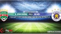 Bình Dương vs Hà Nội: Trực tiếp bóng đá và nhận định (17h00 ngày 5/5), V League 2019 vòng 8