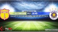 Nam Định vsHà Nội: Trực tiếp bóng đá và nhận định (17h ngày 24/5). Lịch thi đấu V League