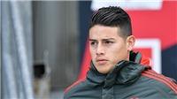 Tin HOT MU 4/5: Mua James Rodriguez với giá 36 triệu bảng. Tranh đội trưởng Ajax với Bayern