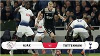 Video bàn thắng Ajax 2-3 Tottenham. Kết quả bóng đá C1