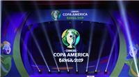 Lịch thi đấu và trực tiếp bóng đá Copa America 2019