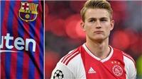 CẬP NHẬT sáng 03/6: Barca ra tối hậu thư cho De Ligt. Mourinho chọn Messi, gạch tên Ronaldo