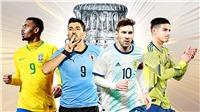 Siêu máy tính dự đoán Argentina vô địch Copa America 2019