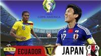 Soi kèo Ecuador đấu với Nhật Bản. Trực tiếp bóng đá Copa America 2019