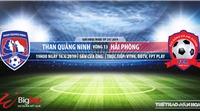 Trực tiếp Quảng Ninh vsHải Phòng. Trực tiếp SLNA vs HAGL.Xem bóng đá V League 2019