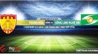 Trực tiếp bóng đá: Thanh Hóa vs SLNA (17h00, 12/07). Trực tiếp VTV6