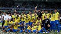 Brazil 3-1 Peru: Thi đấu quả cảm, 10 người Brazil đánh bại Peru ở chung kết Copa America