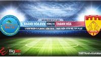 Khánh Hòa vs Thanh Hóa (17h00,07/07): Trực tiếp và soi kèo bóng đá V League 2019