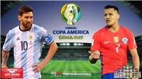 Soi kèo Argentina vs Chile (2h00, 07/07). Trực tiếp bóng đá Copa 2019