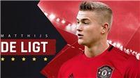 'MU đạt thỏa thuận với Ajax để chiêu mộ Matthijs de Ligt'