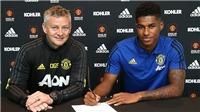 MU: Rashford nhận lương 300 nghìn bảng/tuần ở MU khi 21 tuổi, ngang bằng Pogba