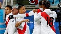 Chile 0-3 Peru: Biến Chile thành cựu vương, Peru hẹn Brazil ở Chung kết Copa America 2019