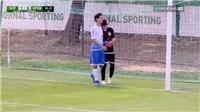 HÀI HƯỚC: U17 Sporting Lisbon mở tỉ số sau 12 giây dù chưa chạm bóng lần nào