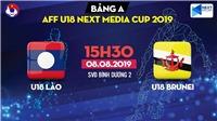 VIDEO: Trực tiếp bóng đá và soi kèo U18 Đông Nam Á, U18 Lào vs U18 Brunei (15h30 hôm nay)