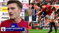 Mourinho khen Maguire 'chắc chắn như hòn đá tảng' ở hàng thủ MU