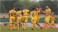 Trực tiếp bóng đá: Sông Lam Nghệ An đấu với Viettel (17h00 hôm nay)