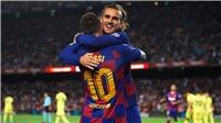 Barcelona 2-1 Villarreal: Griezmann tỏa sáng, Messi lại chấn thương