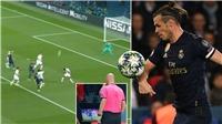 'Siêu phẩm' bị từ chối của Gareth Bale ở trận gặp PSG gây tranh cãi