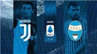 Kết quả bóng đá Juventus 2-0 SPAL: Ronaldo đã lại ghi bàn