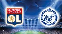Link xem trực tiếp Lyon vs Zenit (23h55, 17/09). Xem trực tiếp Cúp C1 trên K+